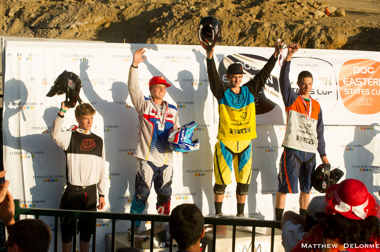 Junior X Podium - Mountain Creek PRO GRT  - Mountain Biking Pictures - Vital MTB