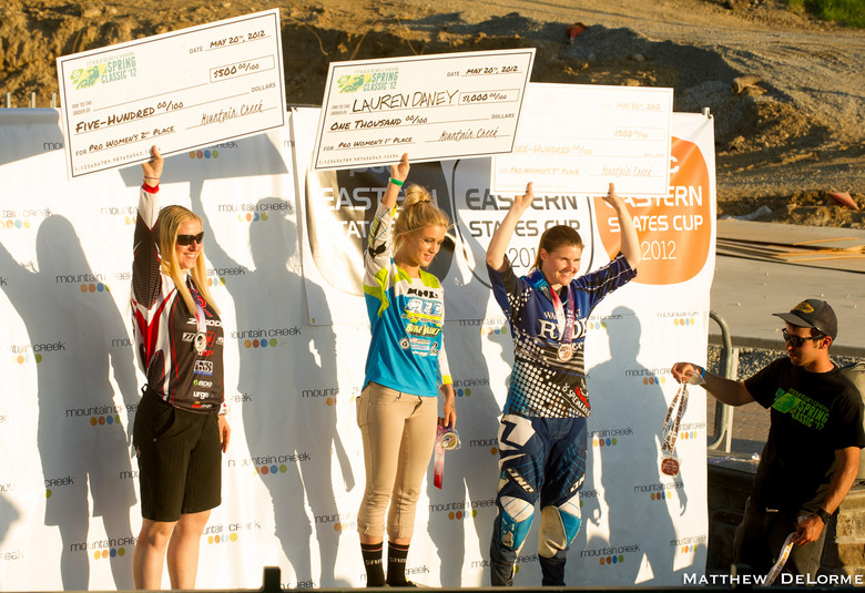 Pro Women Podium - Mountain Creek PRO GRT  - Mountain Biking Pictures - Vital MTB