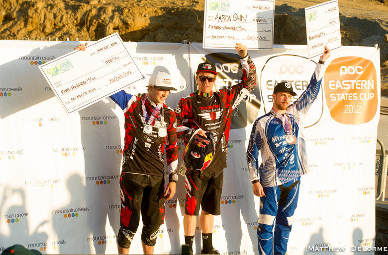 Pro Men Podium - Mountain Creek PRO GRT  - Mountain Biking Pictures - Vital MTB