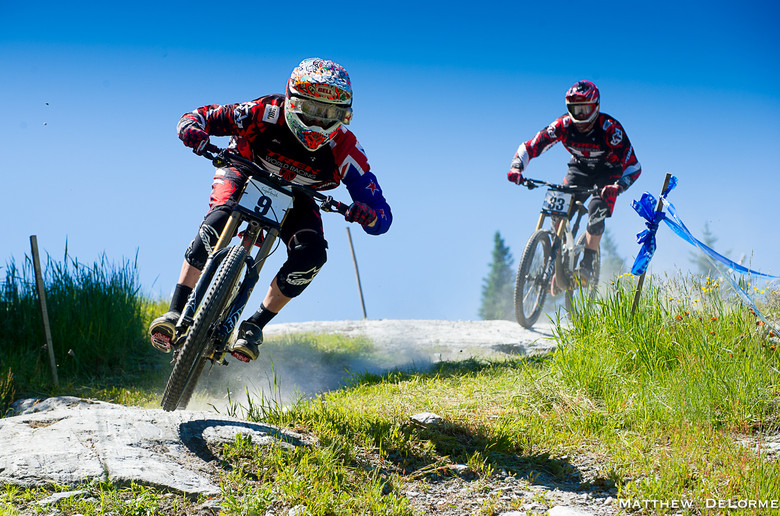 MTB GP at Sugarbush Vermont, Leov First in Seeding - Grand Prix Sugarbush Saturday - Mountain Biking Pictures - Vital MTB