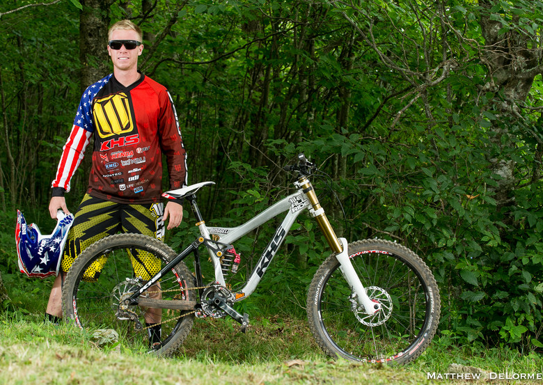 Logan Binggeli's KHS DH300 at US National Champs - Pro DH Bikes from the U.S. National Championships - Mountain Biking Pictures - Vital MTB