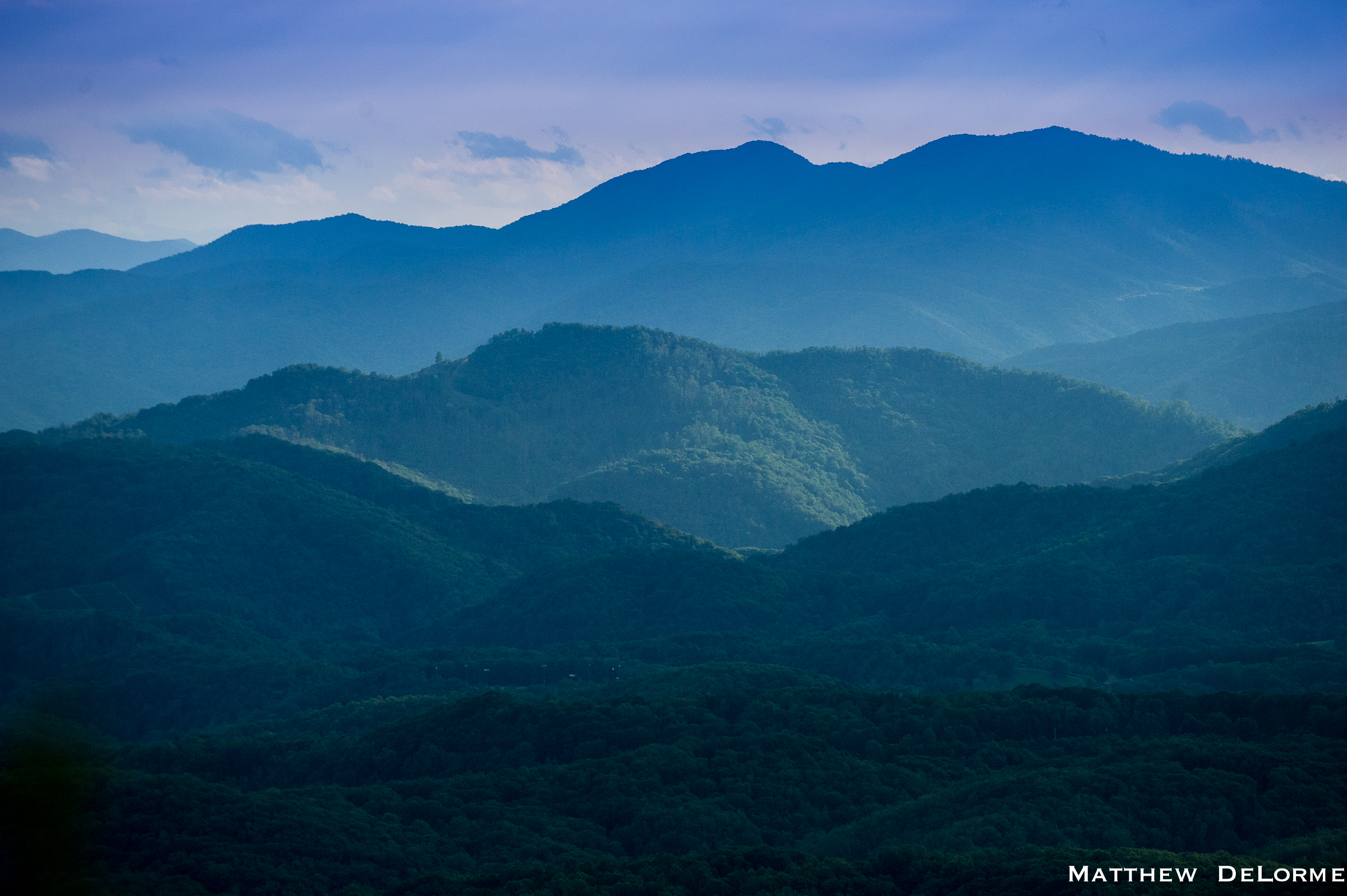who named the blue ridge mountains-#10