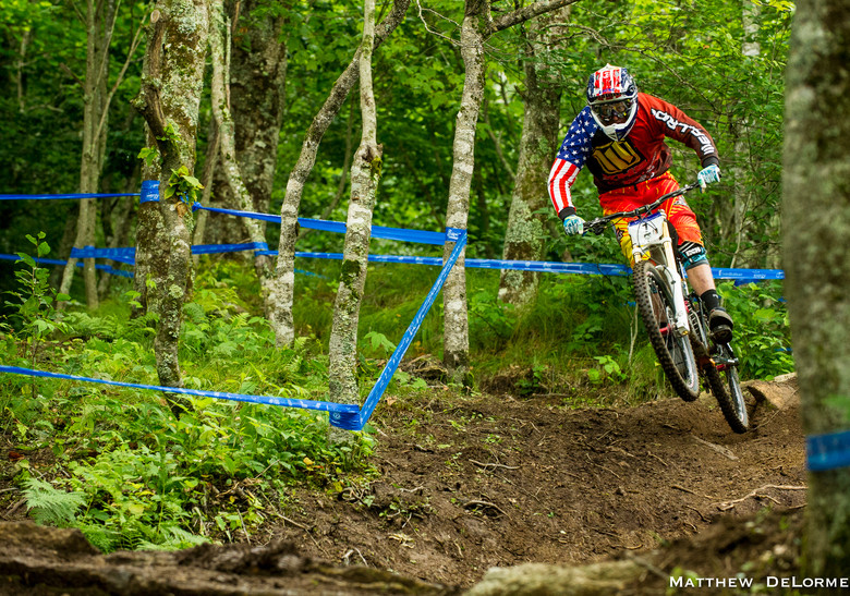 Logan Binggeli - U.S National Championship Dual Slalom Finals and DH Qualifying - Mountain Biking Pictures - Vital MTB