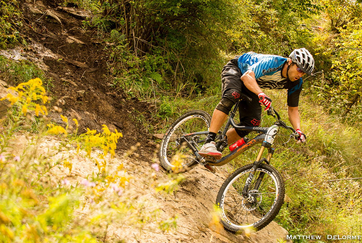 Jeff Lenosky at the King of the Mountain Enduro - Mountain Creek King of the Mountain Enduro - Mountain Biking Pictures - Vital MTB