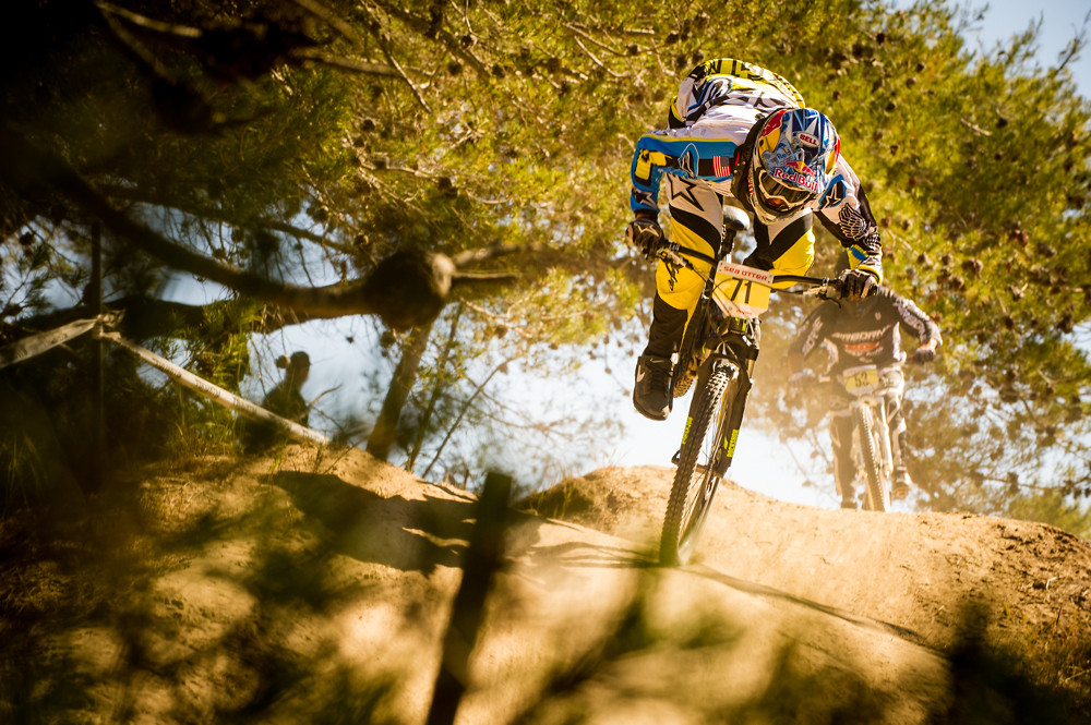 Mike Day Almost Going OTB at Sea Otter - mdelorme - Mountain Biking Pictures - Vital MTB