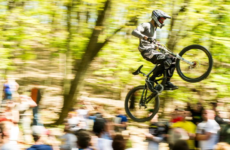 Lane Boertmann's Epic bar hump. - Duryea Downhill - Mountain Biking Pictures - Vital MTB