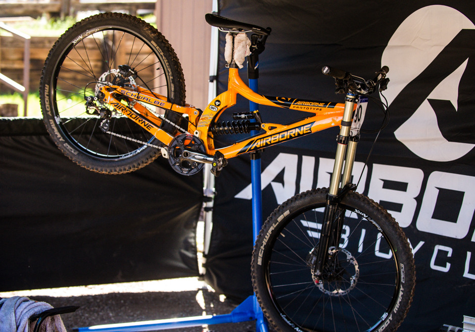 Airborne Pathogen Prototype - Pit Bits, US National Championships Angel Fire, NM - Mountain Biking Pictures - Vital MTB