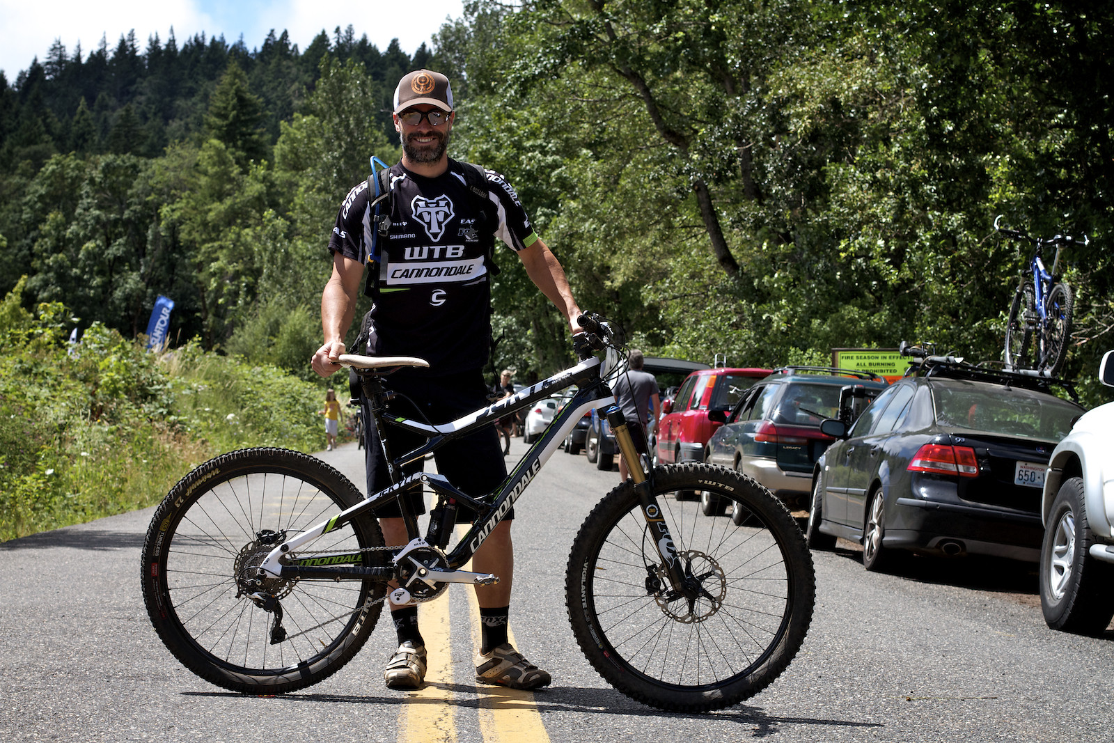 Mark Weir's Cannondale Jekyll at Oregon Enduro Series Hood River - corytepper.com - Mountain Biking Pictures - Vital MTB