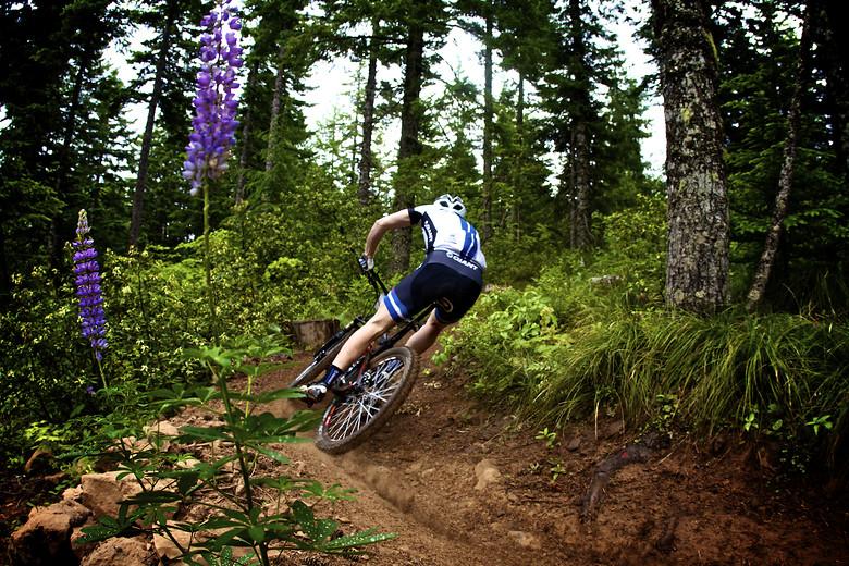 Josh Carlson at the Oregon Enduro in Hood River - corytepper.com - Mountain Biking Pictures - Vital MTB