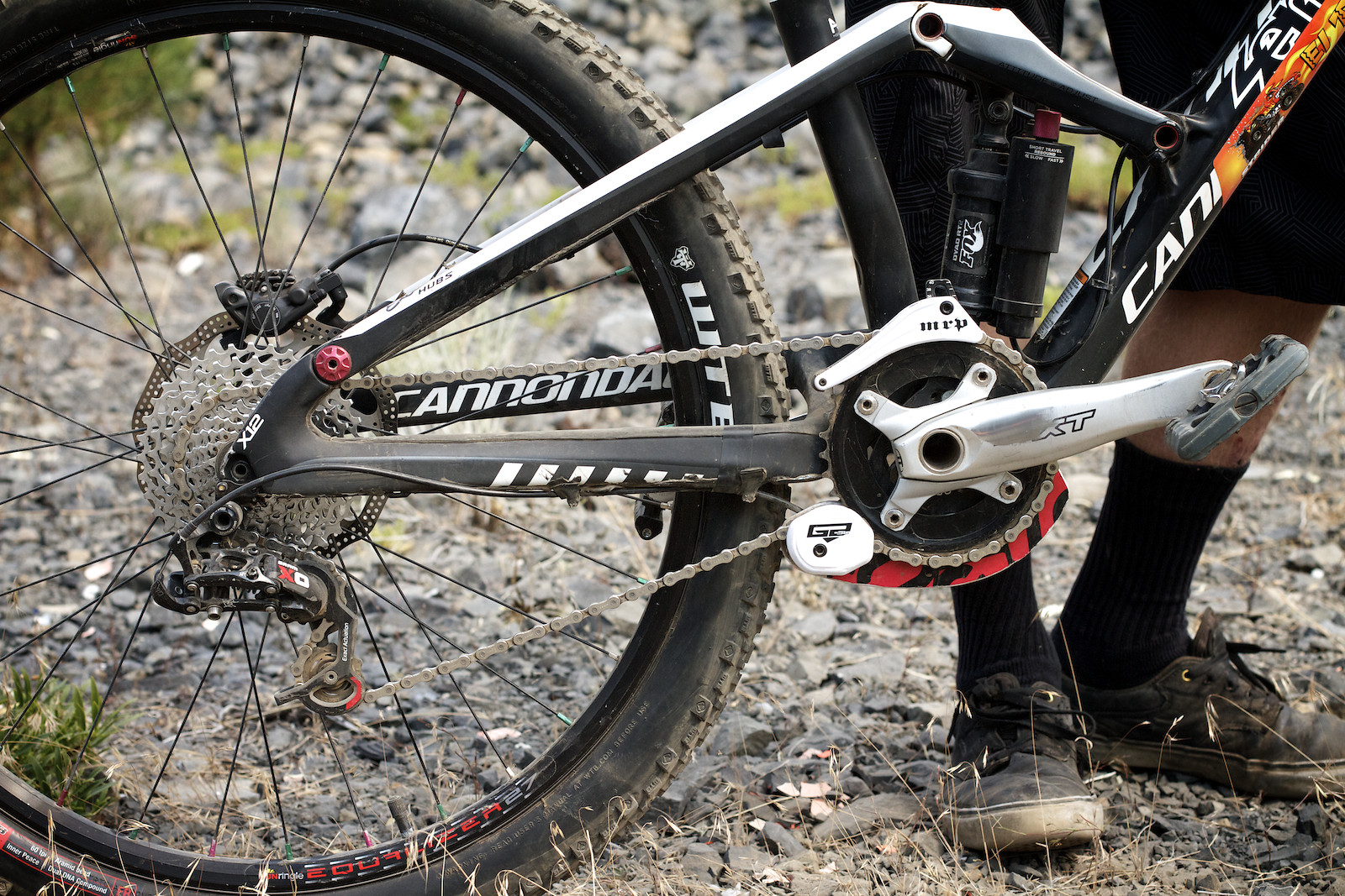 Kyle Warner's Jekyll Drivetrain - corytepper.com - Mountain Biking Pictures - Vital MTB