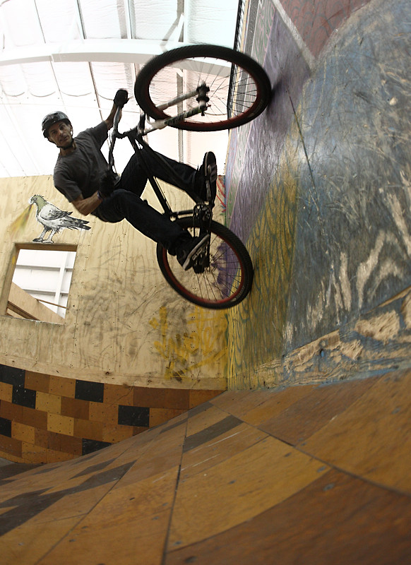Brad McDonald Wallride at Super Session - corytepper.com - Mountain Biking Pictures - Vital MTB