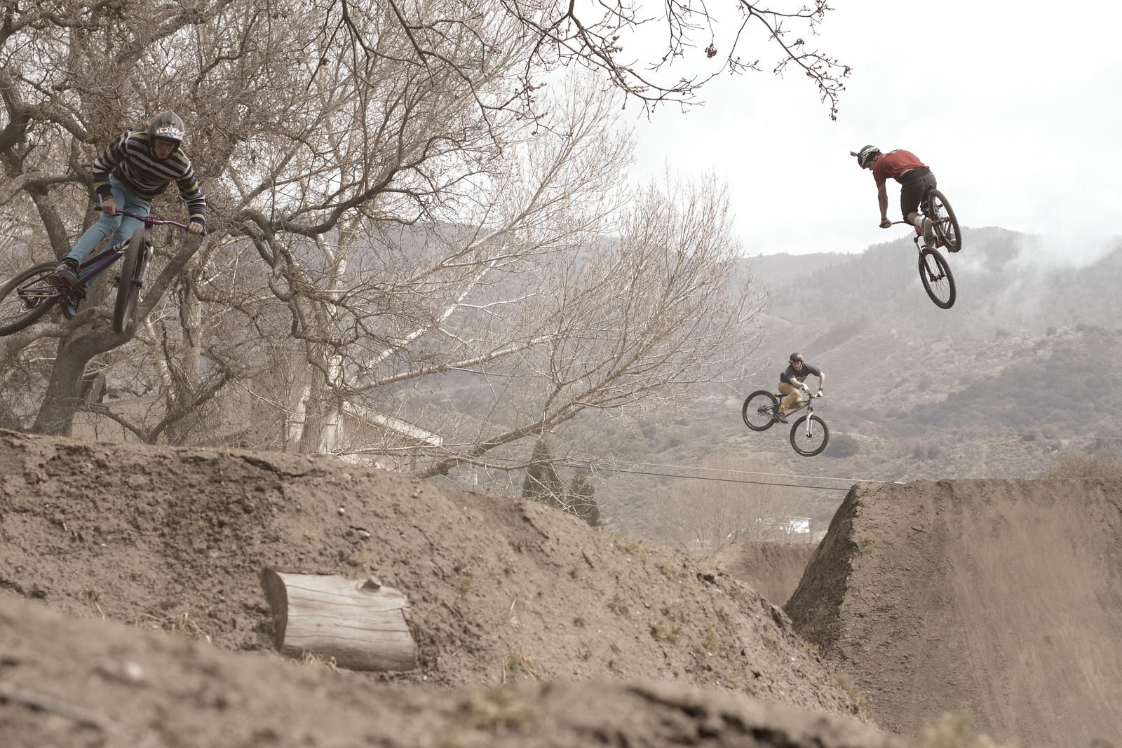 Carson Storch 360 During Mega Train - corytepper.com - Mountain Biking Pictures - Vital MTB