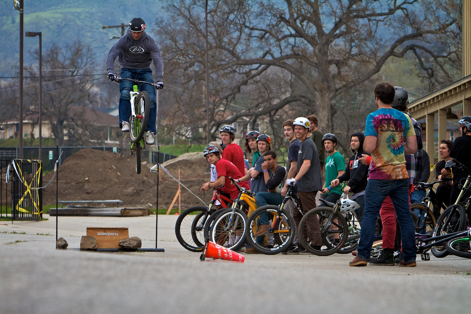 Brian Lopes Super Session Long Jump contest - corytepper.com - Mountain Biking Pictures - Vital MTB