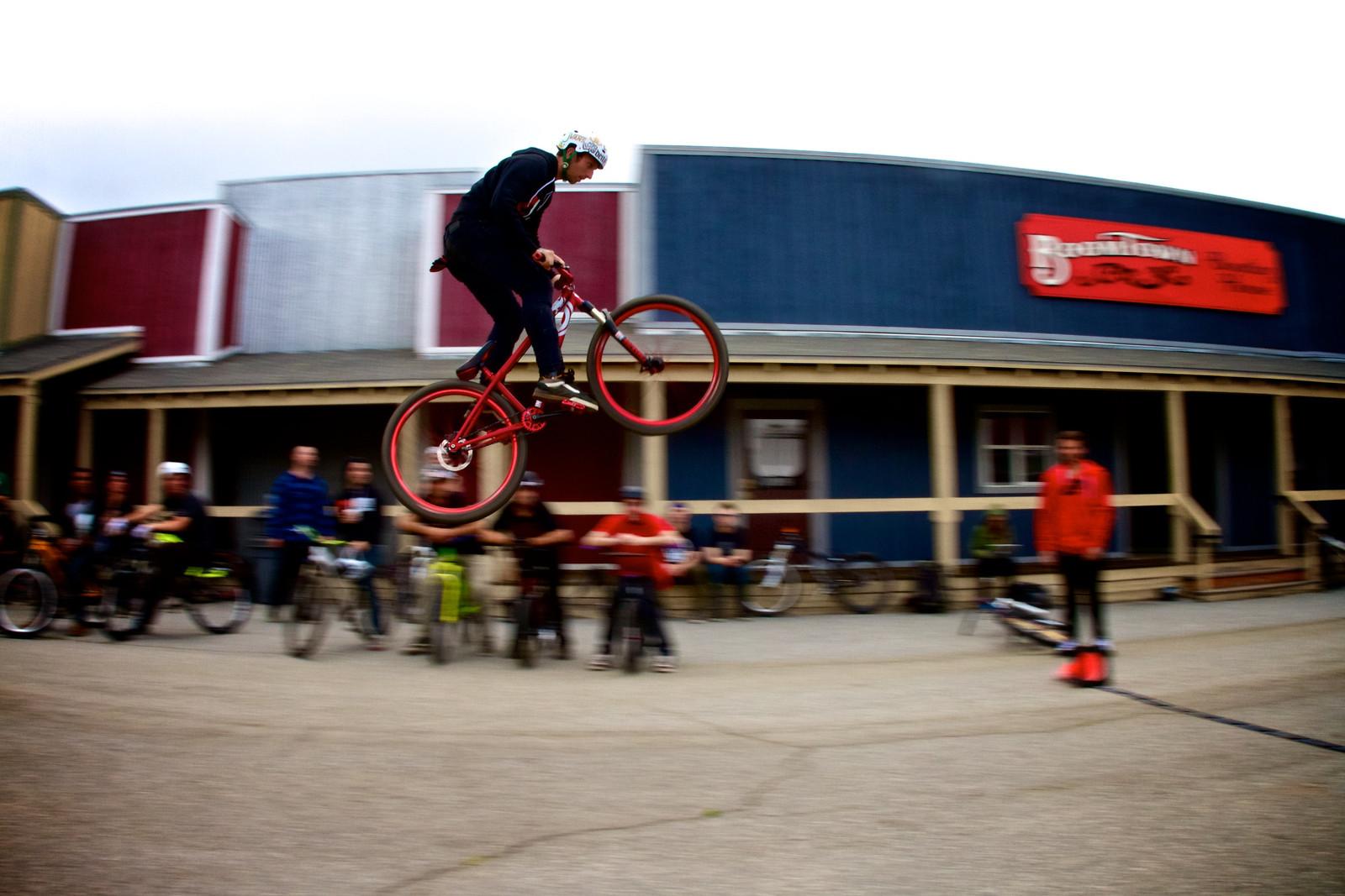 Jake Kinney, Tied with Logan Binggeli for the Long Jump Win - corytepper.com - Mountain Biking Pictures - Vital MTB