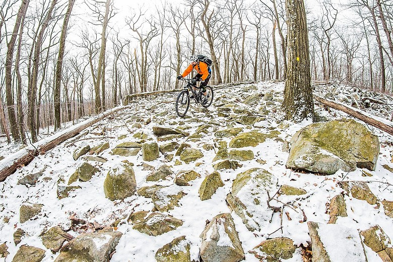 Late snow - jparker - Mountain Biking Pictures - Vital MTB