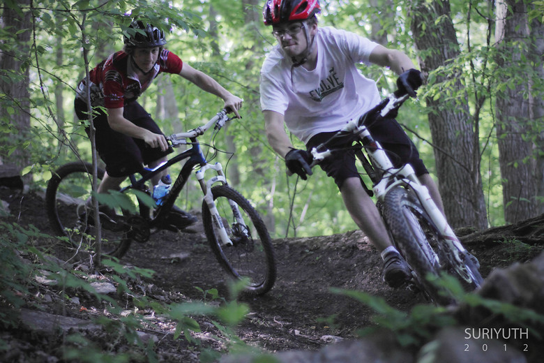 Alan and Jeremy - Fusion - Mountain Biking Pictures - Vital MTB