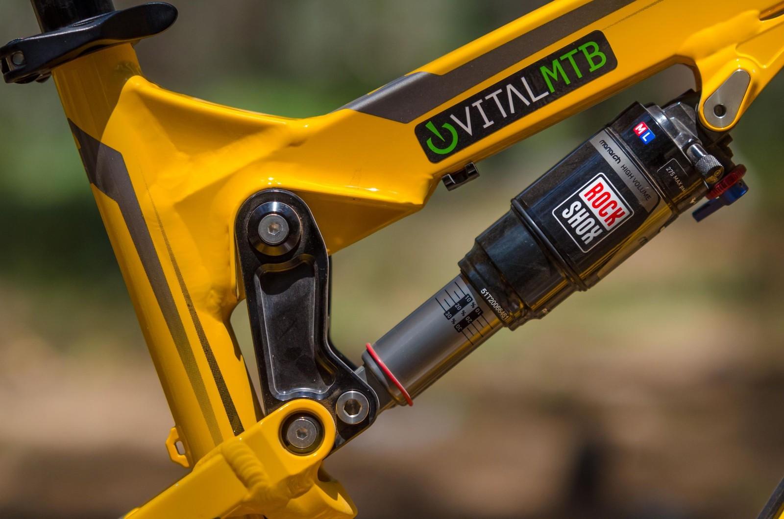 2013 Nukeproof Mega TR - Frame shock pivot detail - iceman2058 - Mountain Biking Pictures - Vital MTB