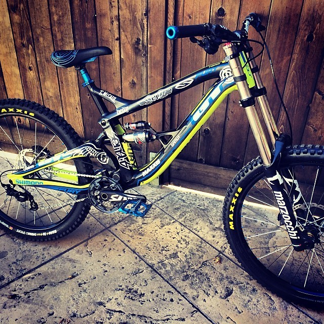Red Bull Rampage Pro Bikes: Tyler McCaul's GT Fury - iceman2058 - Mountain Biking Pictures - Vital MTB