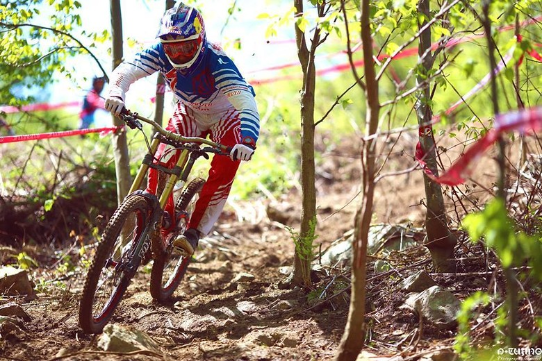 Aaron Gwin, Mountain Creek Spring Classic Downhill Seeding Run - iceman2058 - Mountain Biking Pictures - Vital MTB