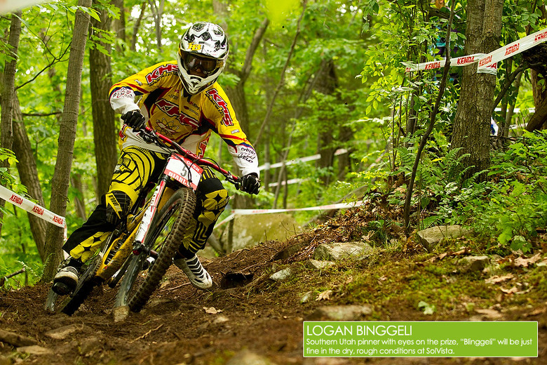 Logan Binggeli - The Contenders, 2010 U.S. National Championship Pro Downhill - Mountain Biking Pictures - Vital MTB