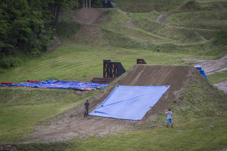 Freebird tarp - Highland Mountain Bike Park - Mountain Biking Pictures - Vital MTB