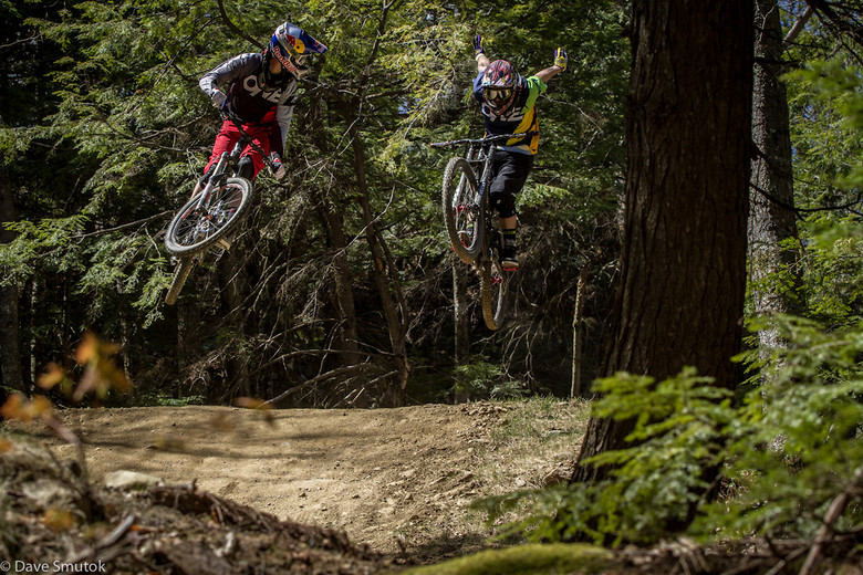 Opening Day with Mike Montgomery and Aaron Chase  - Highland Mountain Bike Park - Mountain Biking Pictures - Vital MTB