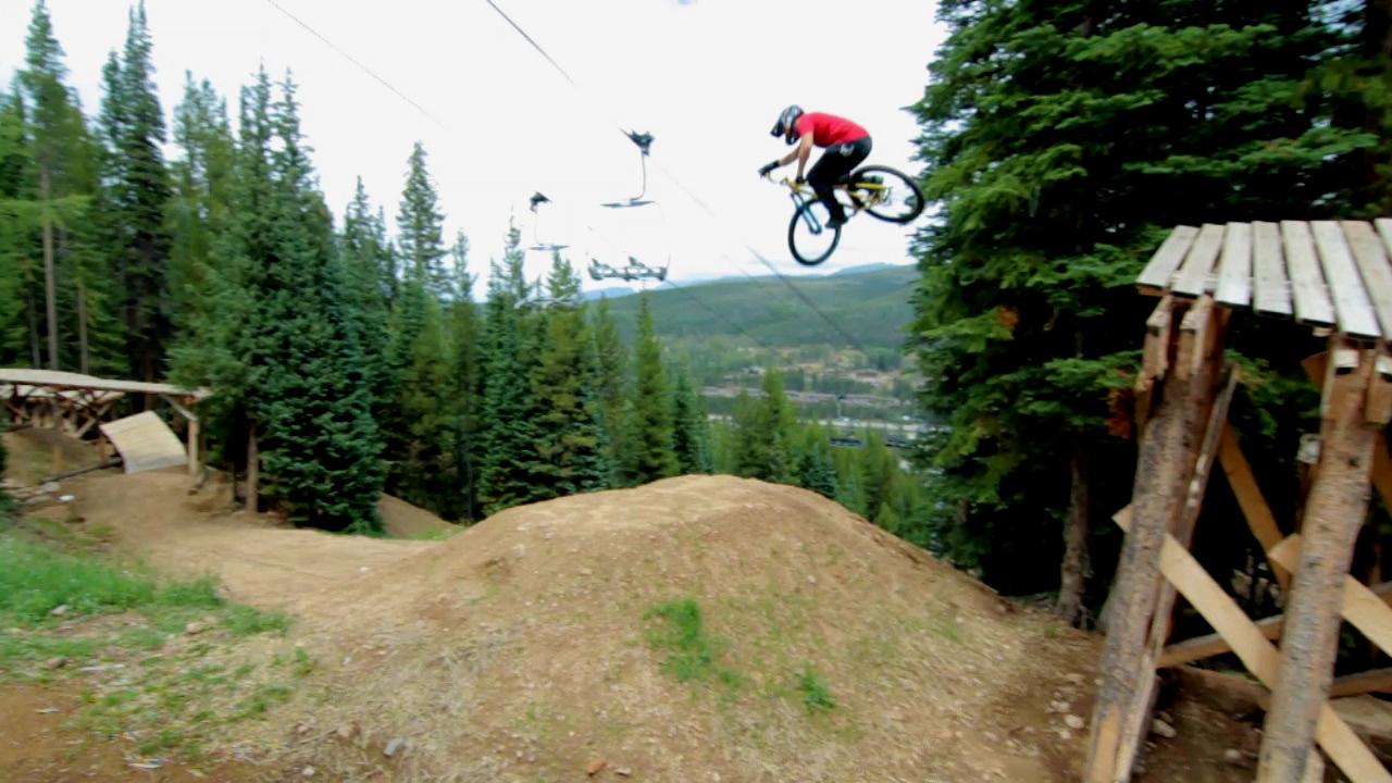 Hot Wheels Slopestyle Trail At Trestle Bike Park