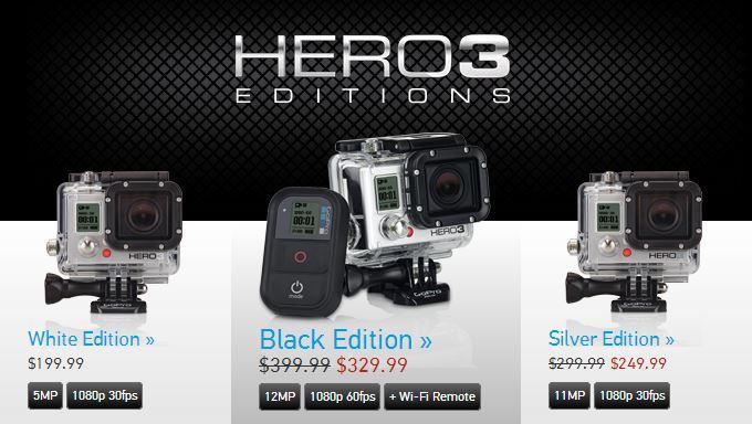 GoPro HERO3 Sale