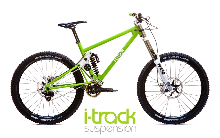 Homemade DH Bike: I-track Suspension, A