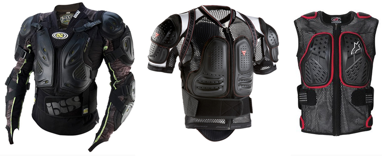 Mountain Bike Body Armor Reviews Comparisons Specs
