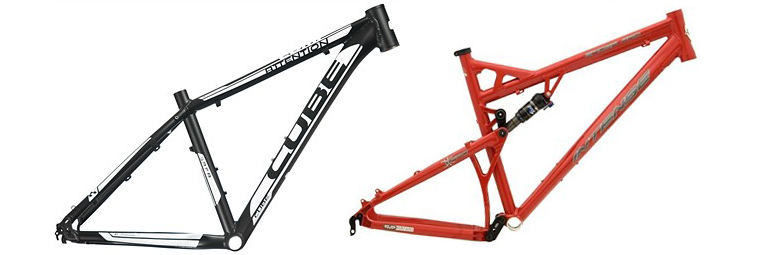 Cross Country Mountain Bike Frames Reviews Comparisons