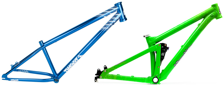 types the two main types of dirt jump frames - Dirt Jump Frame