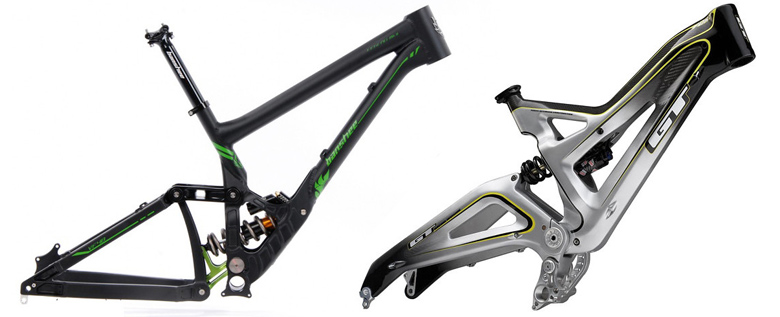 types - Mountain Bike Frames