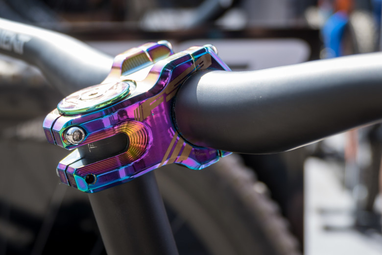6° 35mm Clamp FSA LIMITED EDITION Oil Slick Team Alloy Stem