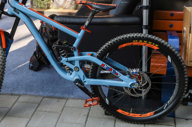 Jason Gibb's Scott Gambler Tribute Bike - PIT BITS - 2019