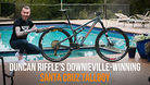 Duncan Riffle's Downieville-winning Santa Cruz Tallboy with SRAM Eagle