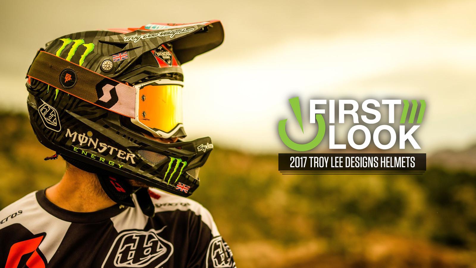 First Look: 2017 Troy Lee Designs Helmet Range
