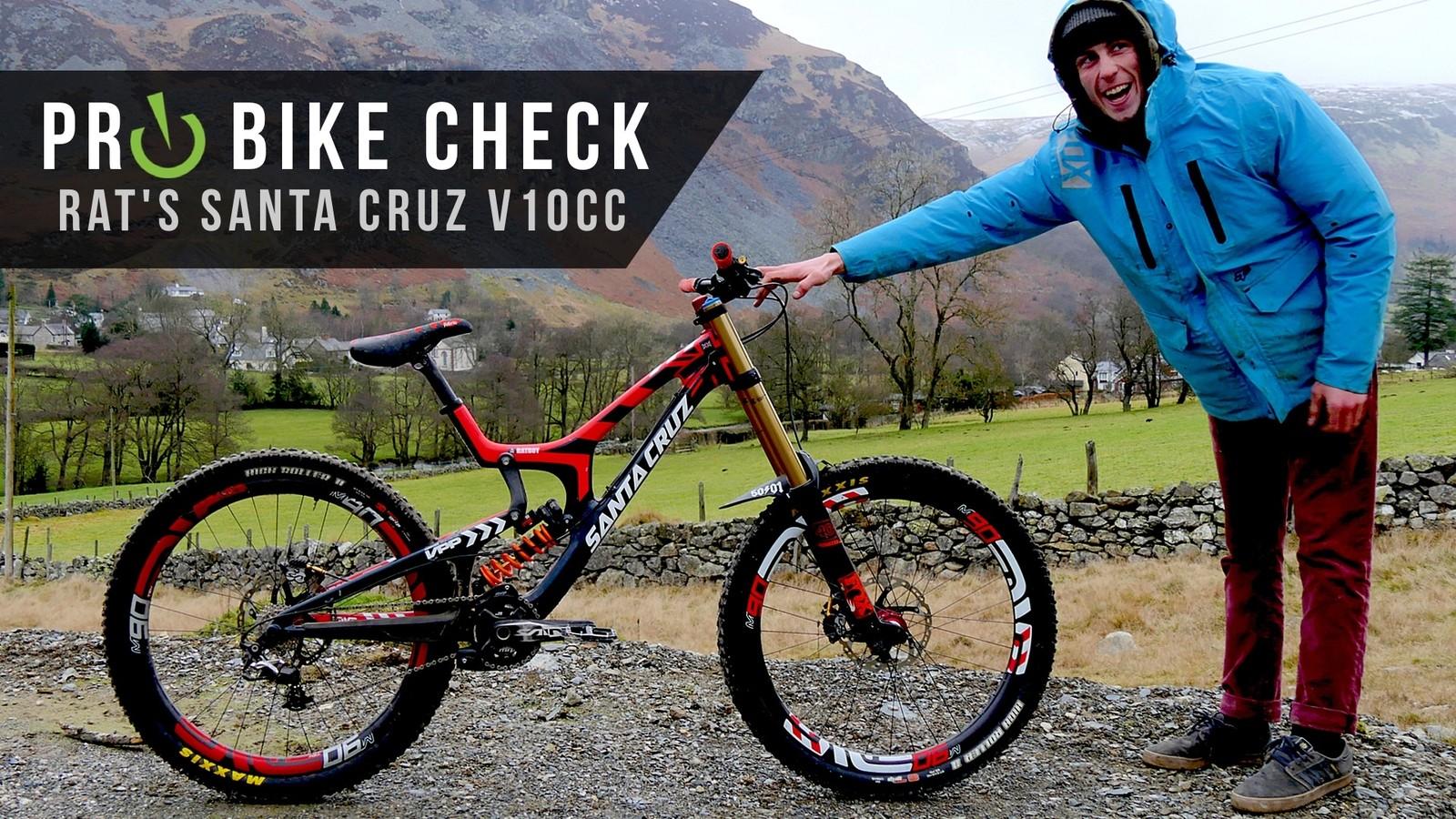 Pro Bike Check: Josh Bryceland's Santa Cruz V10cc