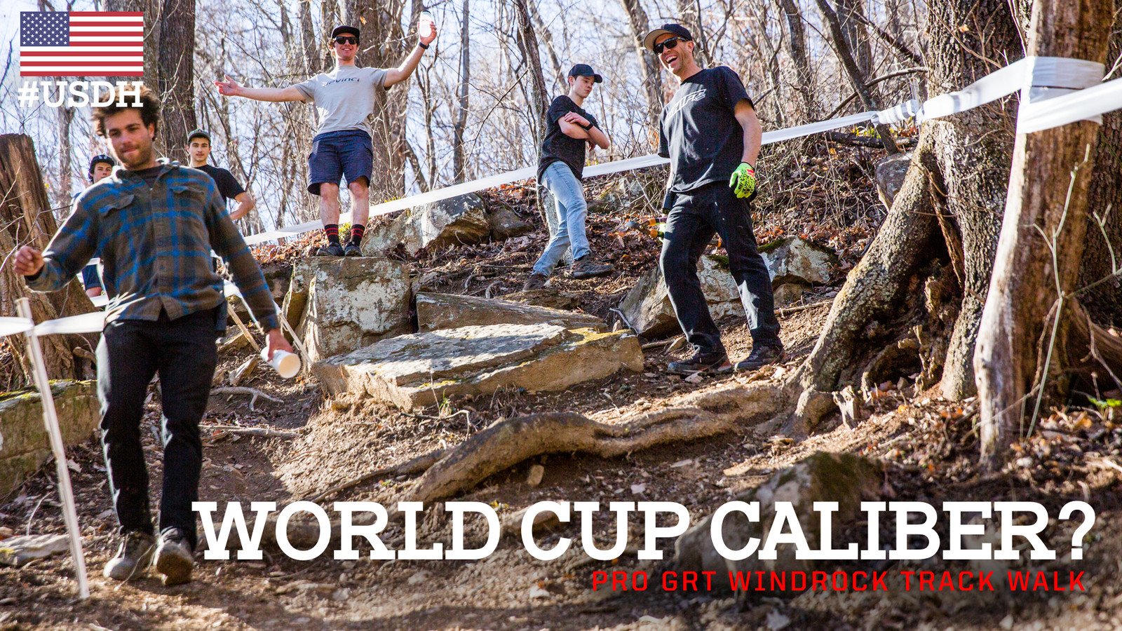 World Cup Caliber? Pro GRT Windrock Track Walk