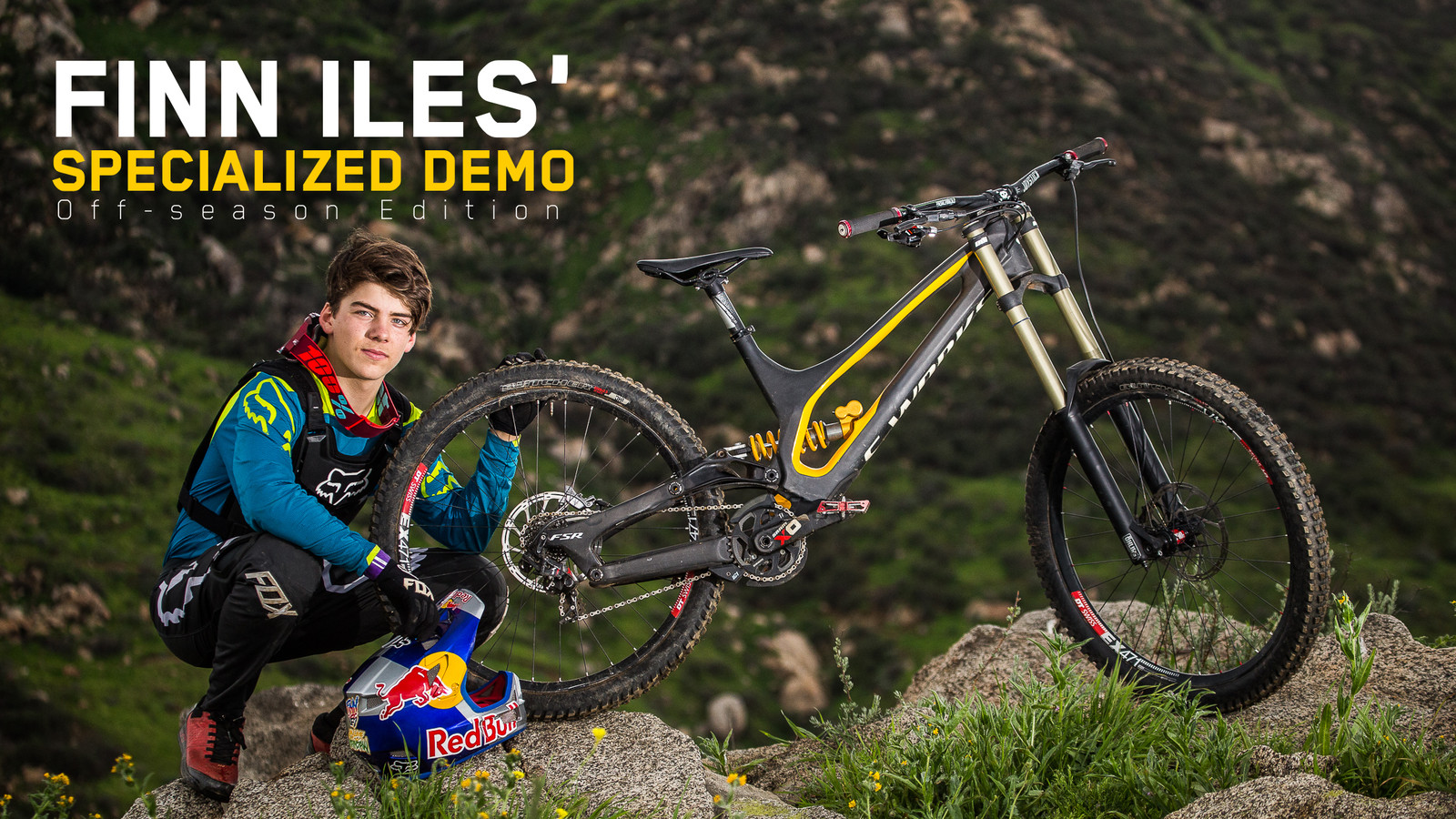 Finn Iles' Specialized S-Works Demo 8