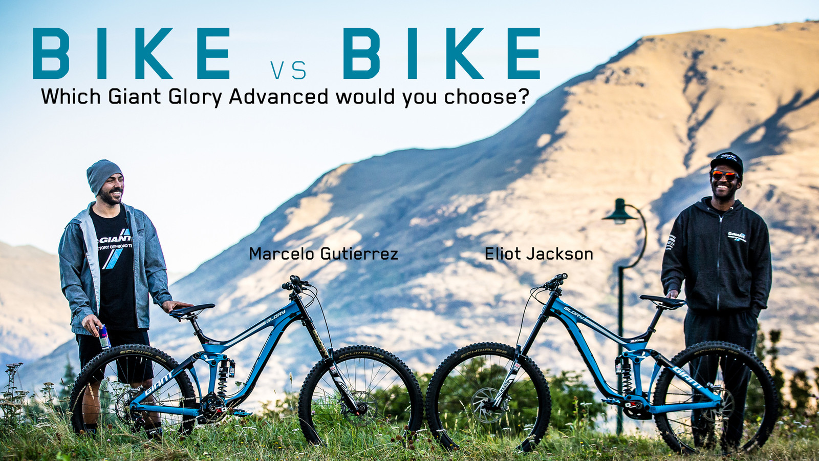 Bike vs. Bike - Giant Glory Advanced - Eliot Jackson vs. Marcelo Gutierrez