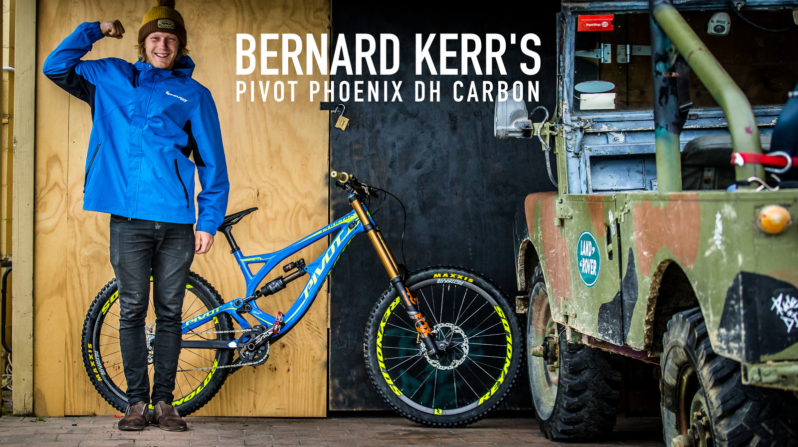 Bernard kerr 39 s pivot phoenix dh carbon mountain bikes for Bernard pineix