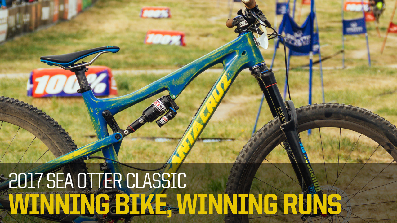 Winning Bike, Winning Runs - 2017 Sea Otter Dual Slalom