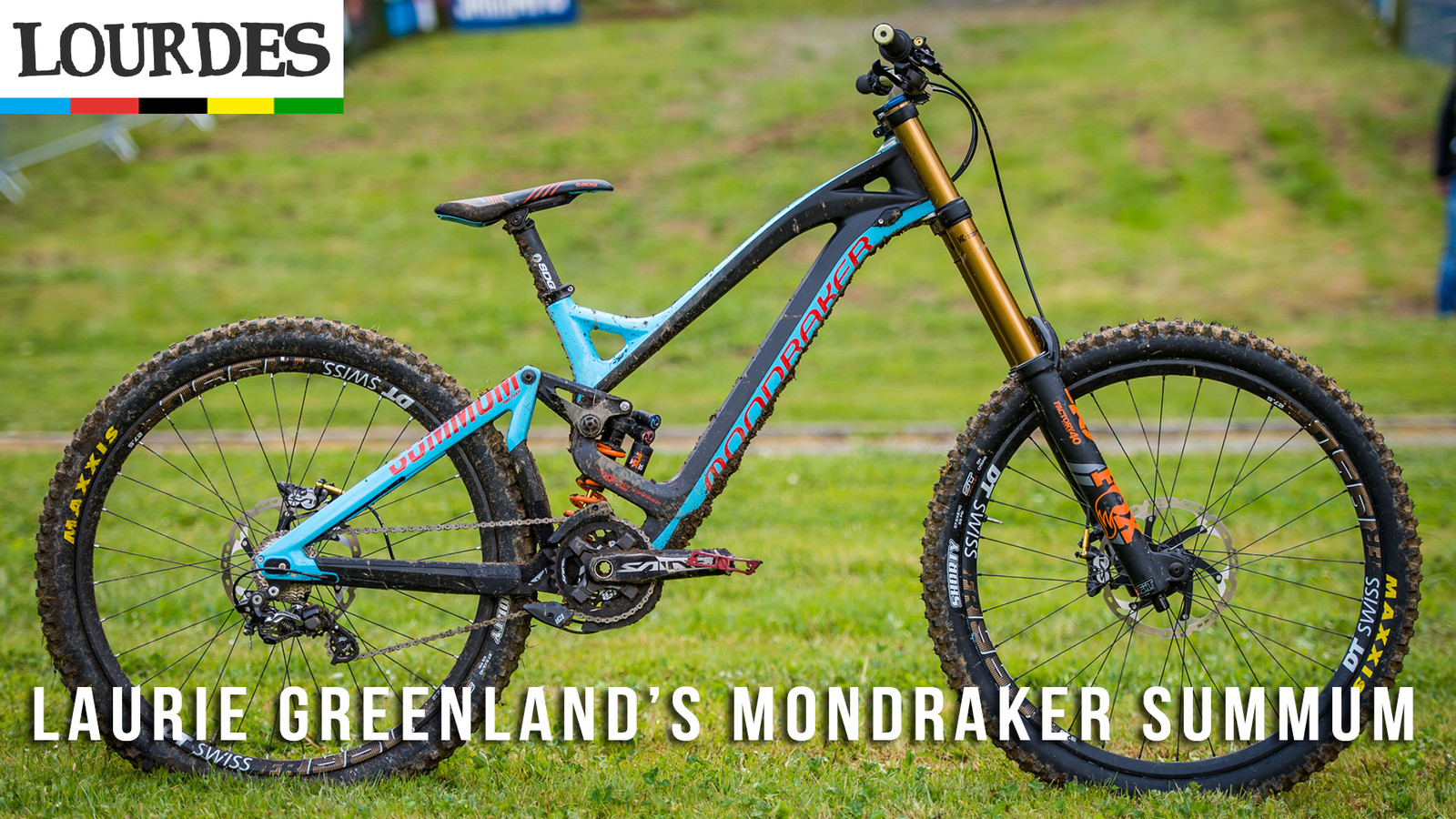 Pro Bike Check: Laurie Greenland's Mondraker Summum