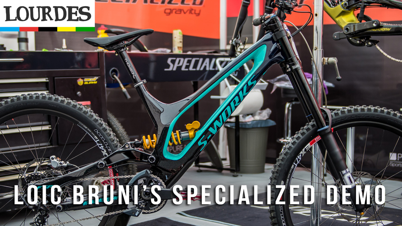 Loic Bruni's Specialized Demo