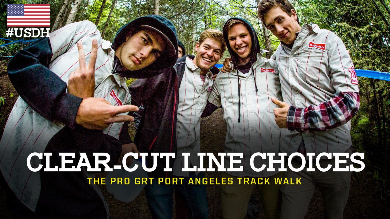 Clear-Cut Line Choices - Pro GRT Port Angeles Track Walk