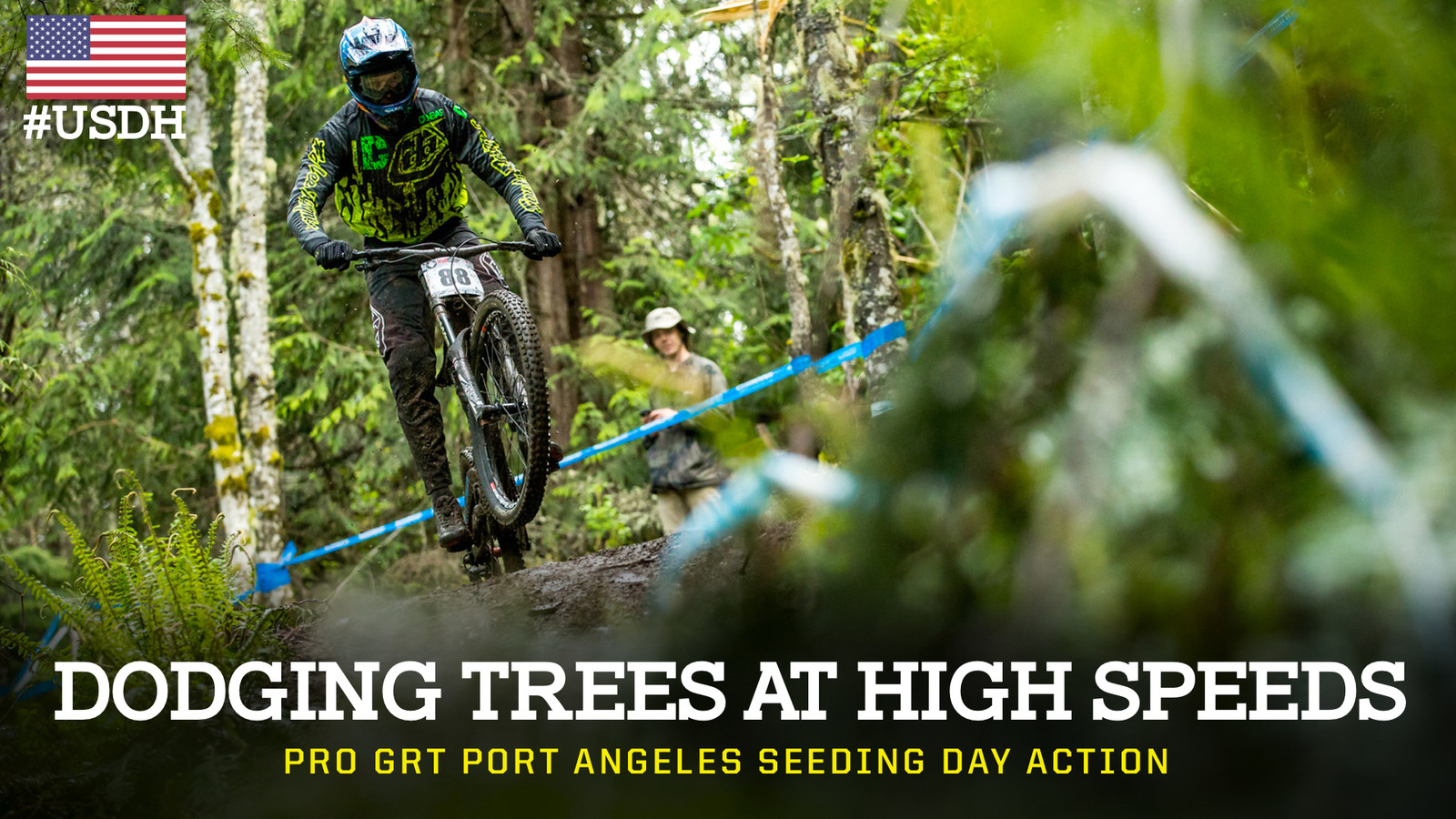 Dodging Trees at High Speeds - Port Angeles Pro GRT Seeding