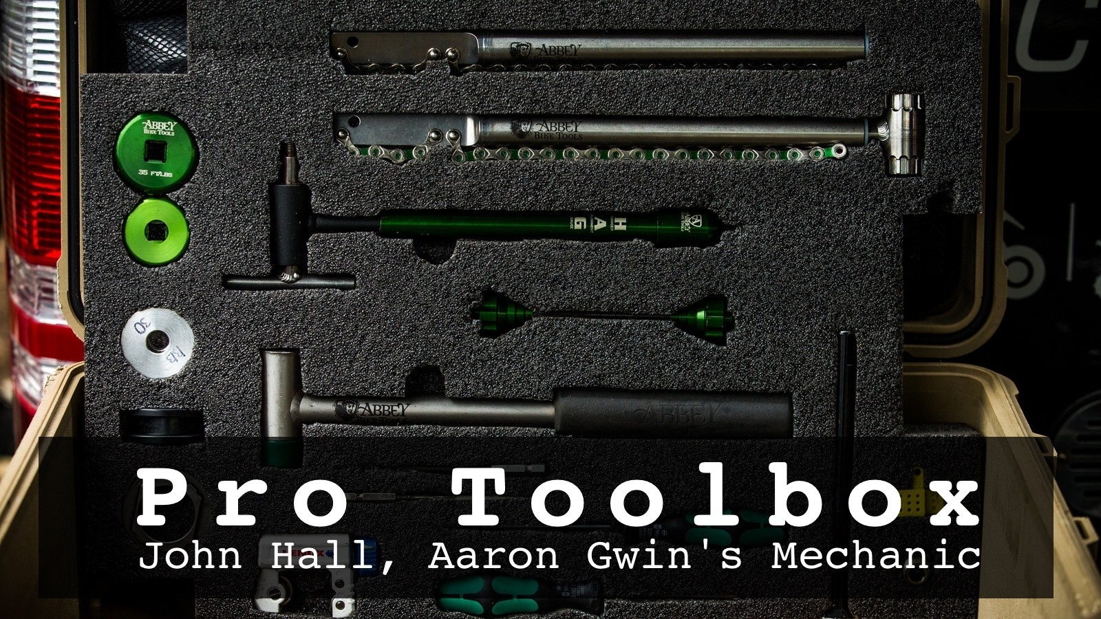 Pro Toolbox Check - John Hall's Treasure Chest