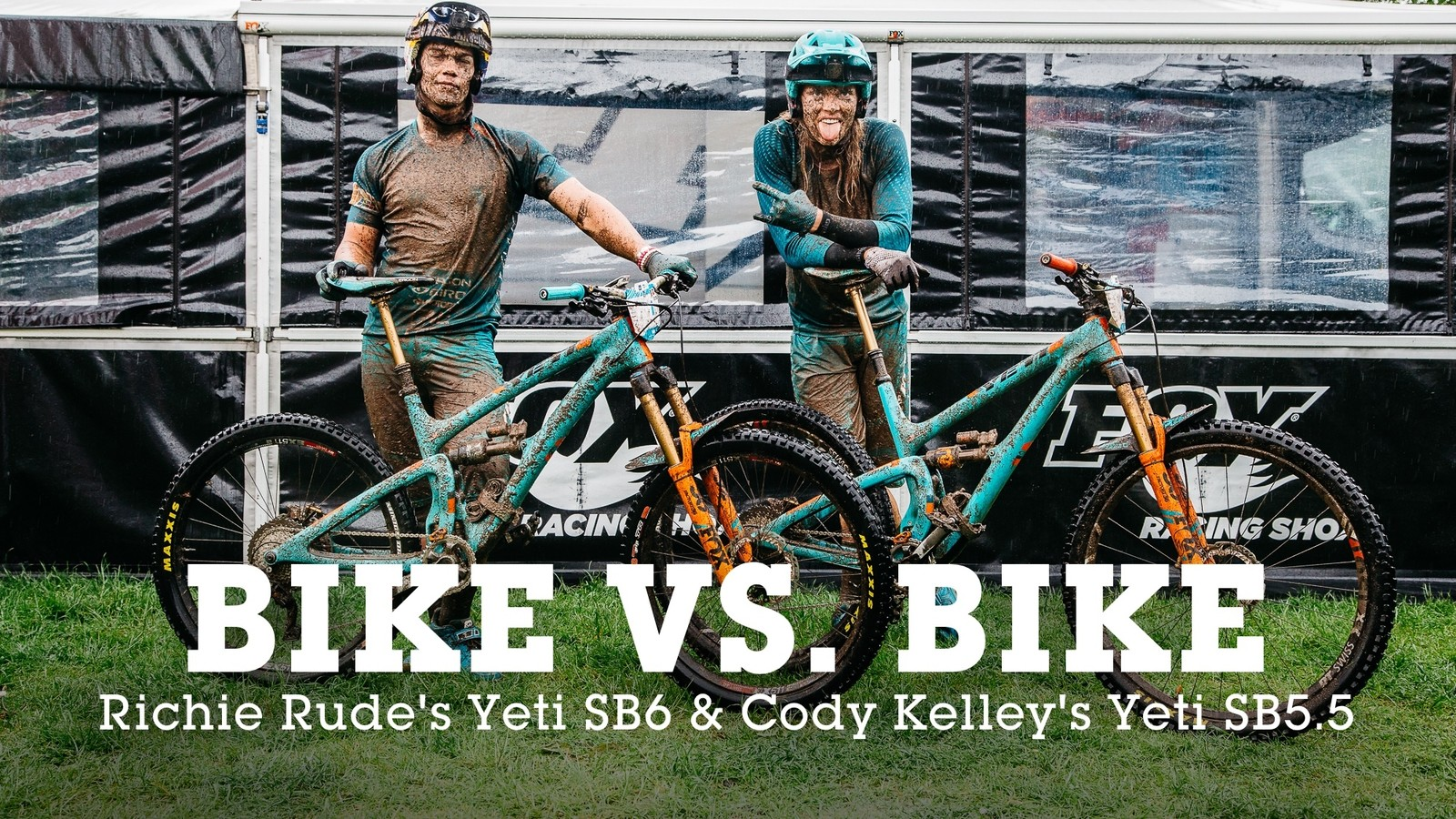BIKE vs. BIKE - Richie Rude's Yeti SB6 27.5 or Cody Kelley's Yeti SB5.5 29er