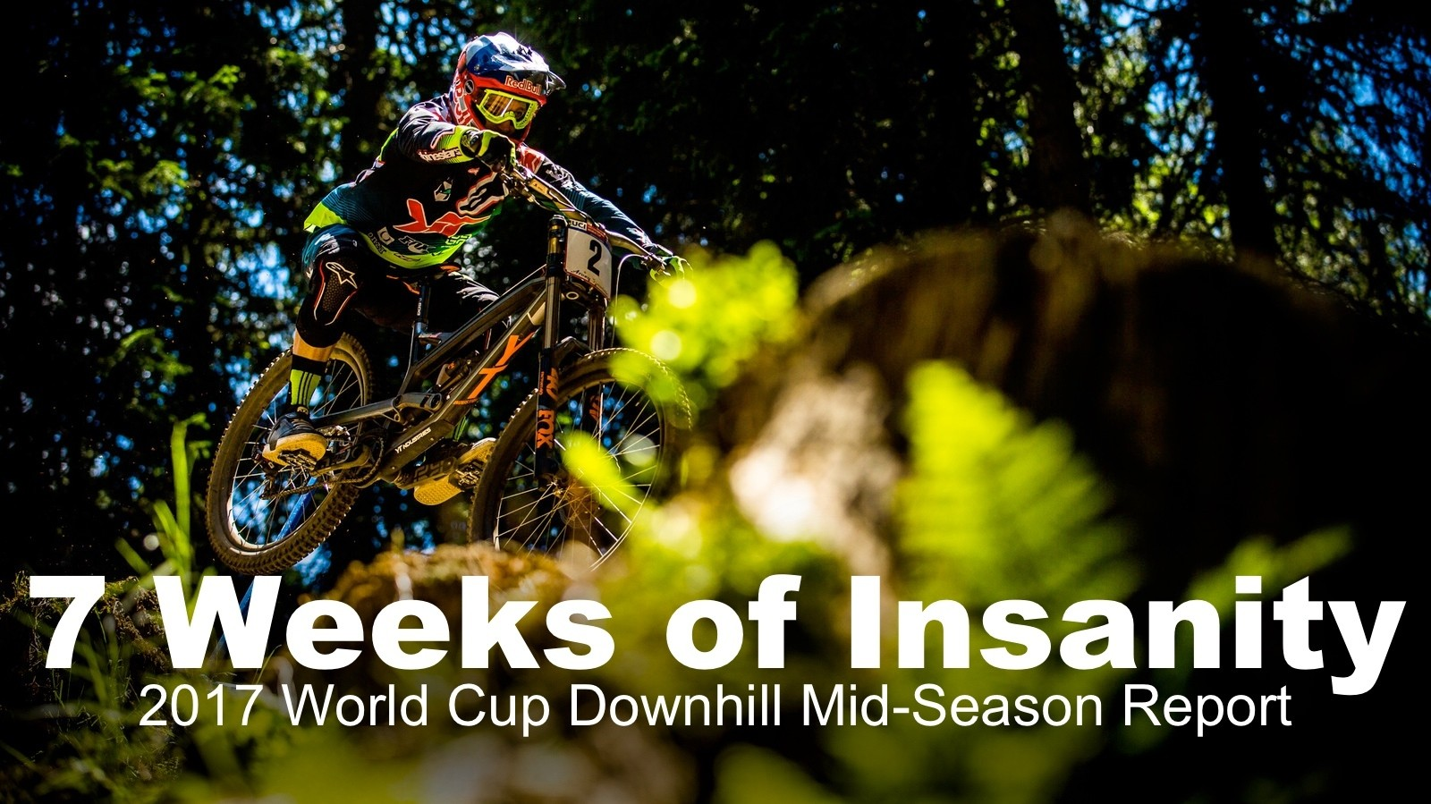 Seven Weeks of Insanity - 2017 World Cup Downhill Mid-Season Report